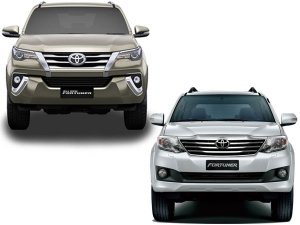Specification Comparison: Toyota Fortuner Old vs New