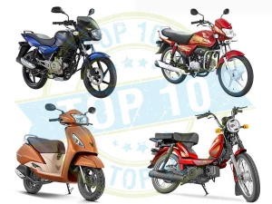 Top 10 Selling Two-Wheelers In The First Quarter Of Financial Year 2016