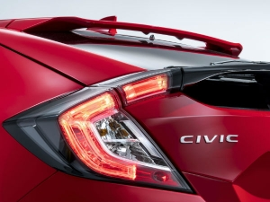 Honda Civic Hatchback Teased Ahead Of 2016 Paris Motor Show Debut