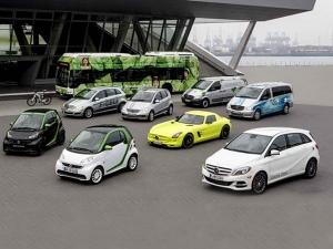 Daimler To Take On Tesla; 6 New EVs On The Way!