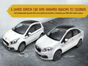 Fiat India Introduce Punto Karbon & Linea Royale Limited Edition Models
