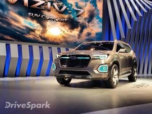 Los Angeles Auto Show 2016: Humongous Subaru Viziv-7 Concept Unveiled