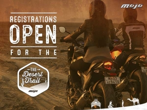 Registration For 1st Ever Desert Trail By Mahindra Mojo Tribe Now Open