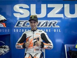Suzuki Racing Confirms Alex Rins Sustains Injury At Valencia Test
