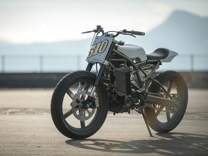 BMW G310R Flat Tracker Unveiled — Art Of Streamlining And Minimalism