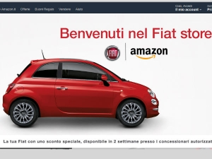 Fiat Links Up With Amazon To Sell Cars Online