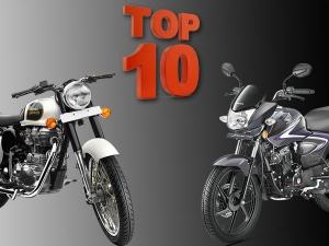 Top 10 Selling Motorcycles In October 2016
