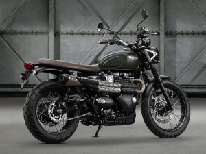 2016 EICMA Motorcycle Show: Triumph Street Scrambler Unveiled