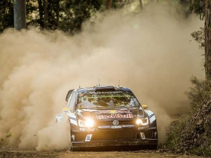 World Rally Championship — Andreas Mikkelsen Leads After Day One Of Rally Australia