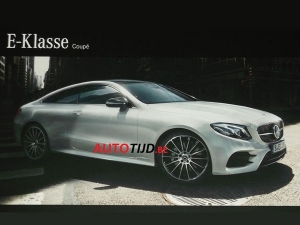 Leak Reveals New Mercedes E-Class Coupe In All Its Glory
