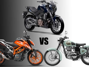 Bajaj Dominar 400 vs KTM 390 vs Royal Enfield Classic — Who Will Dominate?