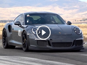 Video: Porsche GT3 RS Tears The Tarmac At A Drag Event
