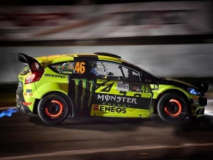 Valentino Rossi Takes Record-Tying Fifth Win In Monza Rally Show