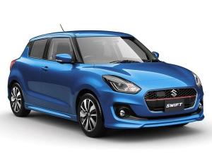 India-Bound 2017 Suzuki Swift Breaks Cover In Japan