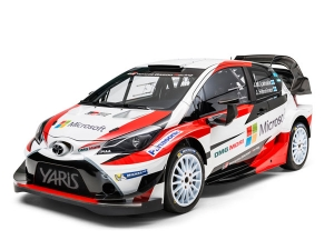 Toyota Reveals The 2017 Yaris WRC With All Finland Driver Lineup