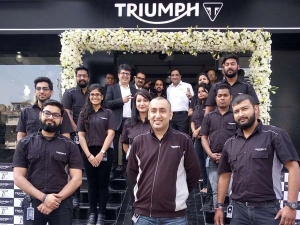 Triumph Motorcycles Inaugurates New Dealership In Delhi
