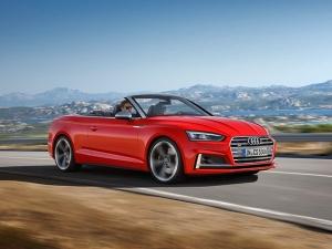 2017 Detroit Motor Show: Audi Showcases S5 Cabriolet
