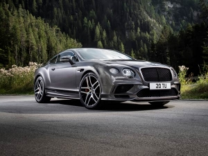 Extreme Bentley Continental Supersports Is The World's Fastest Four Seat Car