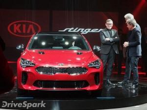 2017 Detroit Auto Show: Stunning Kia Stinger GT Revealed