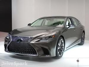 2017 Detroit Auto Show: Lexus LS Unveiled