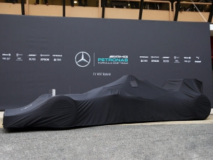 Mercedes Team Announces The Launch Date Of 2017 F1 Car