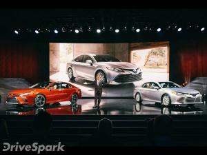 2017 Detroit Auto Show: Toyota Camry Revealed