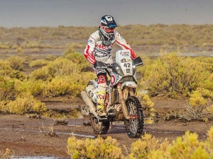 Dakar 2017: CS Santosh And Stage 10 Updates