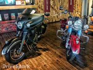 Indian Motorcycle Launches Springfield And Chieftain Dark Horse Baggers In Bangalore