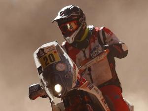 Rider Struck By Lightning During Stage 4 Of 2017 Dakar Rally