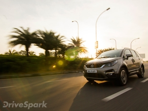 Tata Hexa Launched In India; Launch Price + Photo Gallery