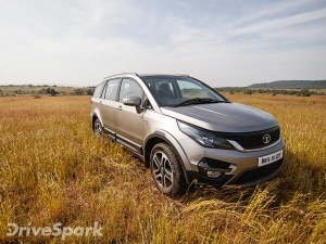 Tata Hexa Price Leaked; Base Variant Might Start From Rs 12.30 Lakh
