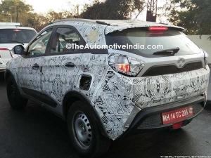 Spy Pics: Tata Nexon Spotted Testing; Interiors Reveal New Feature