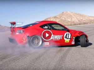 Mental Toyota-Ferrari Hybrid Is A Manic Tyre Shredding Drift Machine