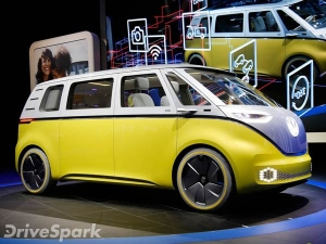 2017 Detroit Auto Show: Volkswagen ID Buzz Concept Revealed — The Return Of The Microbus?