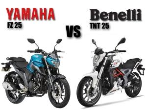 Yamaha FZ 25 vs Benelli TNT 25: Battle Of The Quarter-Litre Nakeds