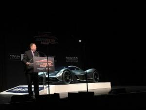 Aston Martin Red Bull AM-RB 001 Hypercar Makes Auto Show Debut