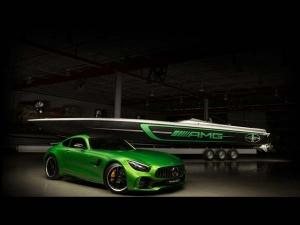 Mercedes, Honda & Aston Martin Show Off Their Bonkers Miami Mean Machines