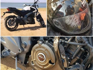 First Ever Bajaj Dominar 400 Crash Reported — Results Are Quite Ugly