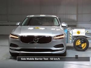 Euro NCAP Crash Tests Volvo S90 & V90 — Results Are More Than Impressive
