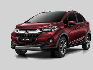 Honda WR-V Spotted At Dealership Stockyard Ahead Of India Launch