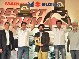 Suresh Rana And R Nataraj Wins 2017 Maruti Suzuki Desert Storm