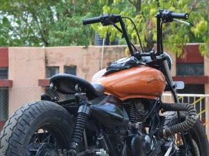 Custom Chopper By Ornithopter Moto Design — Feel Like God Yet?