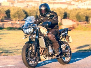 New Generation Triumph Tiger Spotted Testing