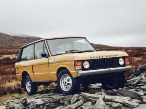 First Ever Range Rover Reborn Revealed By Land Rover — Now's That's A Classic