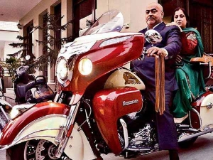 Son Gifts Dad Indian Roadmaster On His Wedding Anniversary — Wish We All Had A Son Like This