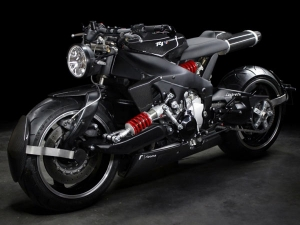 You Will Never Believe What Motorcycle This Mental Cafe Racer Is Based On