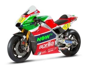 Aprilia Unveils Its Colourful 2017 MotoGP Challenger