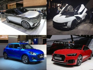 Cars Coming To India From Geneva Motor Show — From Geneva With Love