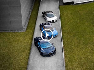 First Three Bugatti Chirons Head Out Into The Real World — Just 497 More To Go