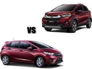 Honda WR-V vs. Jazz: 6 Key Differences